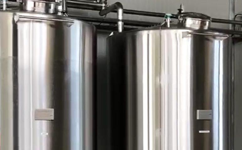 Impianto Cip Lavaggio Serbatoio • Inox - CMP srl