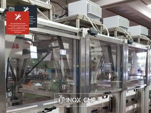 Linea Automatica 4 di confezionamento Astucci di Prodotti Alimentari Surgelati•Inox-Cmp-srl©